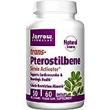 Jarrow Formulas Pterostilbene, Supports Cardiovascular & Neurologic Health, 50 Mg, 60 Veggie Caps