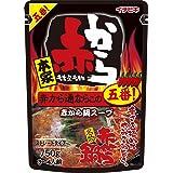 イチビキ 赤から鍋スープ5番(ストレート) 750g×2個