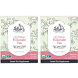 Organic Milkmaid Tea by Earth Mama | Supports Healthy Breastmilk Production and Lactation, Herbal Breastfeeding Tea Supplemen