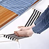 Office Foot Hammock Under Desk, Adjustable Desk Foot Rest Replace Footstools for Home, Office Study and Relaxing, 1pc/Box (Bl