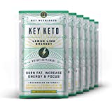 Exogenous Ketone Supplement, Key Keto: Patented BHB Salts (Beta-Hydroxybutyrate) - Formulated for Ketosis, to Burn Fat, Incre
