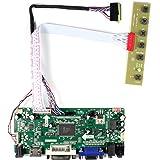"HDMI DVI VGA Input LCD Controller Board for 14"" 15.6"" LTN156AT02 LTN156AT05 1366x768 40Pins LCD Screen"
