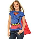 Supergirl Womens T Shirt Costume Kit Size XL