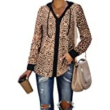 Lotusmile 3/4 Sleeve Shirts for Women,Casual Bow Tie Blouses Plaid Tunic Tops