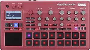 KORG サンプラー シーケンサー electribe sampler electribe2S エレクトライブ メタリックレッド ダンスミュージック 音楽制作 ライブパフォーマンスに最適 Ableton Liveと連携
