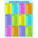 """Carson Dellosa Education Multiplication Tables [all facts to 12] Jumbo Pad (3102), 8.5"""" x 11"""""""