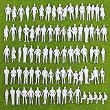 人形 人物 人々 人間 人間フィギュア 未塗装 情景コレクション ザ ・ 鉄道模型・ジオラマ・建築模型・電車模型に 35…