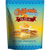 California Creamery On-The-Go Nacho Cheese Sauce and Tortilla Chips, 273g
