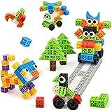 SHAWE Building Blocks Set Kids Toys 110pcs Magic Cubes Bricks Sets STEM Toy Kits,Educational Toys Building - Interlocking Cre