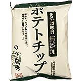 深川油脂工業 化学調味料無添加ポテトチップス のり塩味 55g ×12袋