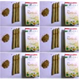 NIRDOSH HERBAL FILTER DHOOMPAN - Pack of 10 Cigs - Made with Ayurvedic Herbs (Pack of 6)