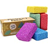 Monkey Foam - 40% More Than The Competitor's Combo Party Pack - 5 Giant Blocks in 5 Great Colors - Perfect for Creative Play