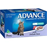 Advance Adult and Senior Cat Delicate Tuna Wet Food 7 x 85g