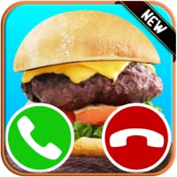 Incoming Fake Call From Burger Game - Free Fake Phone Calls ID PRO 2018 - PRANK FOR KIDS!