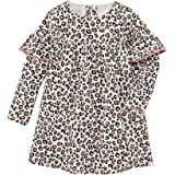 Mud Pie Baby Girls' Leopard Dress, TAN