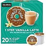 The Original Donut Shop Vanilla Latte, Single-Serve Keurig K-Cup Pods, Flavored Coffee, 20 Count