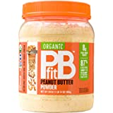 PBfit All-Natural Organic Peanut Butter Powder, Powdered Peanut Spread from Real Roasted Pressed Peanuts, 8g of Protein (30 o