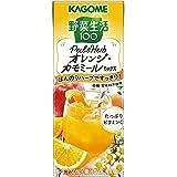 カゴメ 野菜生活100 Peel&Herb オレンジ・カモミールミックス 200ml ×24本