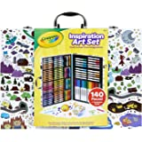 Crayola 40530 Imagination Inspiration Art Case 140Piece, Art Set, Gifts for Kids, Age 4, 5, 6, 7
