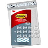 Command CL017-13NA Value Pack Round Cord, Clear, 13 Clips
