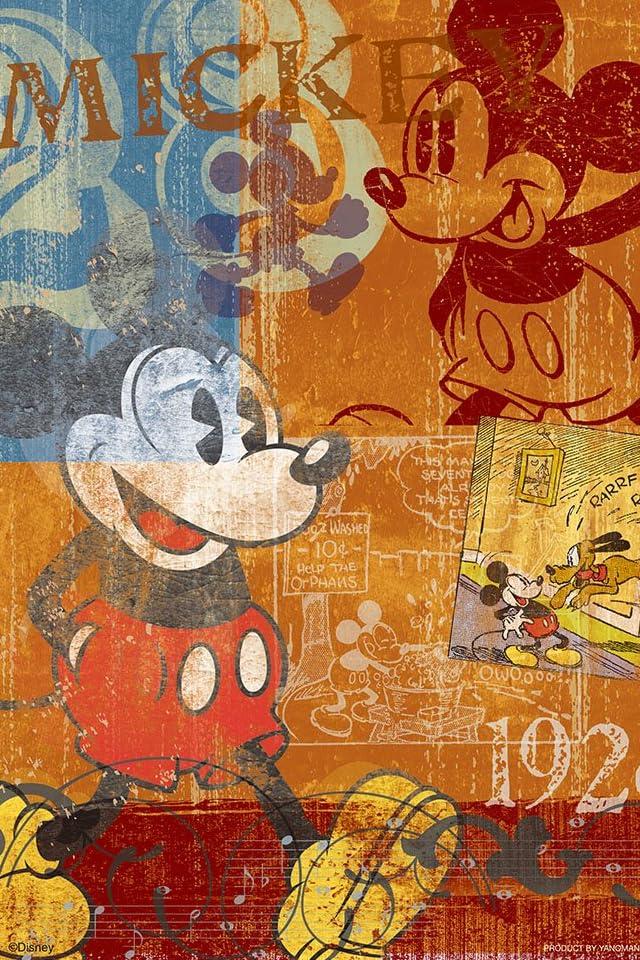 ディズニー ミッキーマウス iPhone(640×960)壁紙 画像41627 スマポ
