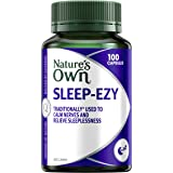 Nature's Own SleepEzy Capsules - Calming Herbal Sleep Complex - Relieves Sleeplessness - Calms Nerves, 100 Capsules