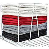 Shelf Dividers for Closets - Sturdy Closet Organizer and Storage Separator to Tidy your Linen Purses Sweater & More - New 201