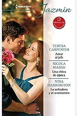 Amar al jefe - Una chica de época - La soñadora y el aventurero (Ómnibus Jazmín) (Spanish Edition) Kindle Edition
