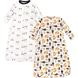 Hudson Baby Baby Girls' Wearable Safe Long Sleeve Cotton Sleeping Bags