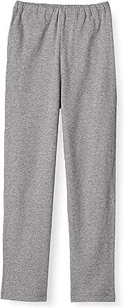 [セシール] ルームパンツ 綿100% 長パンツ無地 NI-389 レディース