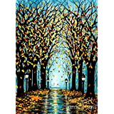 DIY 5D Diamond Painting Kits for Adults & Kids Tree by Number Kits Round Rhinestone Embroidery Cross Stitch Arts Craft Canvas
