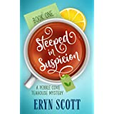 Steeped in Suspicion (A Pebble Cove Teahouse Mystery Book 1)