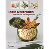 Table Decoration with Fruits and Vegetables