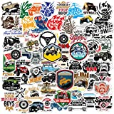Acekar Jeep Stickers and Dirt Bike Stickers | 65 Pack | Vinyl Waterproof Stickers for Laptop,Skateboard,Water Bottles,Compute