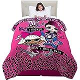 """MGA Comforter, ML9478, Microfiber, Pink/Purple, Twin/Full 72"""" x 86"""""""