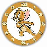 Tom and Jerry 11'' 壁時計(トムとジェリー)あなたの友人のための最高の贈り物。あなたの家のためのオリジナルデザイン