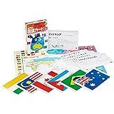 世界の国旗カード 1集(アジア・北アメリカ・南ア