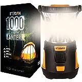 Internova 1000 LED Camping Lantern - Massive Brightness with Fully Adjustable 360 Arc Lighting - Emergency - Backpacking - Co