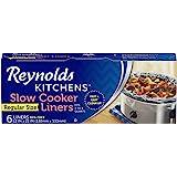 Reynolds Kitchens Slow Cooker Liners, Regular, 6 Count (Pack of 1)