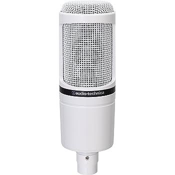 【Amazon.co.jp限定】 audio-technica オーディオテクニカ コンデンサー マイクロホン AT2020WH ホワイト