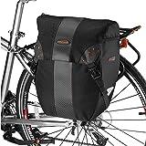 Ibera(イベラ) PakRak 自転車 パニアバッグ サイドバッグ 着脱容易クリップ式 レインカバー付き