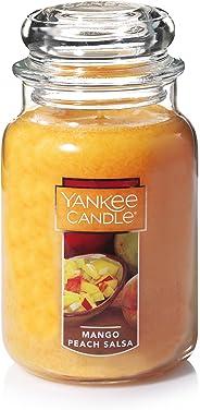 Yankee Candle Mango Peach Salsa Classic Jar Candle, Large