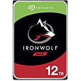 Seagate IronWolf 12TB NAS Internal Hard Drive HDD – 3.5 Inch SATA 6Gb/s 7200 RPM 256MB Cache for RAID Network Attached Storag