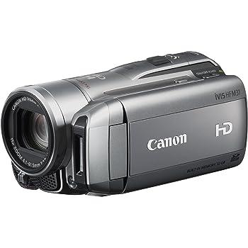 Canon フルハイビジョンビデオカメラ iVIS HF M31 シルバー IVISHFM31 (内蔵メモリ32GB)