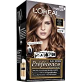 L'Oréal Paris Préférence Permanent Hair Colour - Glam Lights No4 (Intense, Fade-Defying Colour)