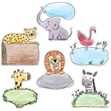 """Creative Teaching Press Cut-Outs 6"""" Safari Friends Cut Outs, 6"""" Ctp 3278 with"""