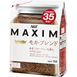 AGF マキシム モカブレンド 袋 70g×4袋 【 インスタントコーヒー 】【 詰め替え エコパック 】
