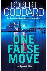 One False Move Kindle Edition