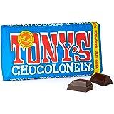 Chocolate Bar チョコレート、奴隷無料 Dark Chocolate ダークチョコレート 180g Fair Trade by Tony's