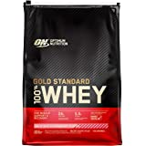 Optimum Nutrition Gold Standard 100% Whey Protein Powder, Strawberry, 4.55 Kilograms